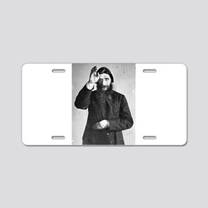 Gregory Rasputin Aluminum License Plate